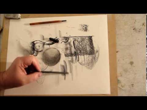 Free Art Lesson: How to Draw using Value: Different hand Holds