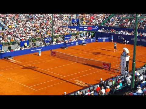 Match point de Dominic Thiem vs Rafael Nadal - Argentina Open 2016 - ATP World Tour 250 Buenos Aires