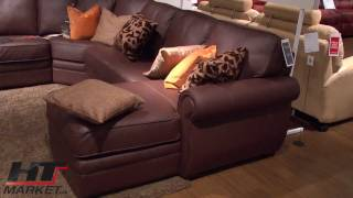 Palliser Viceroy Sofa And Sectional By Palliser - Stationary Couch