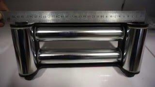 Блок направляющих роликов клюзов губок для стального троса автомобильной лебедки(Блок направляющих роликов для стального троса автомобильной лебедки(клюз, губки). Запчасти для внедорожног..., 2015-12-17T22:34:37.000Z)