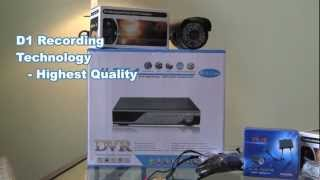 TITAN 4 Channel High Performance Security Camera System | Overview