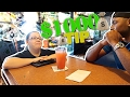 TIPPING WAITRESS AND DRIVE THRU WORKERS $1000!! 😱😂