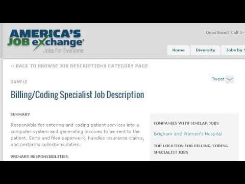 Billing And Collection Job Description - YouTube