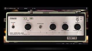 Tutorials - Reverb SPRING-636 | ARTURIA