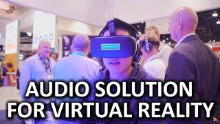 3D Audio for VR & 360 Video! - Sennheiser Booth