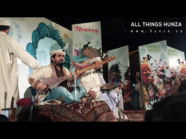Navroz Celebrations - Wakhi Song by DW Baig at Lok Virsa Islamabad