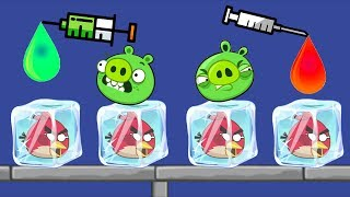 Unfreeze Angry Birds - DRAW COLOR WATER WAY TO RESCUE BIRDS FULL LEVELS!