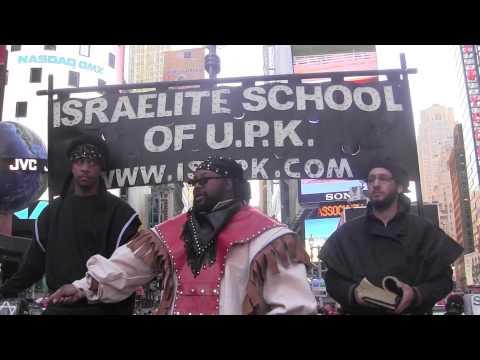 WHITE AUSTRALIAN WOMAN CHALLENGES HEBREW ISRAELITES - ISUPK Times Square NY