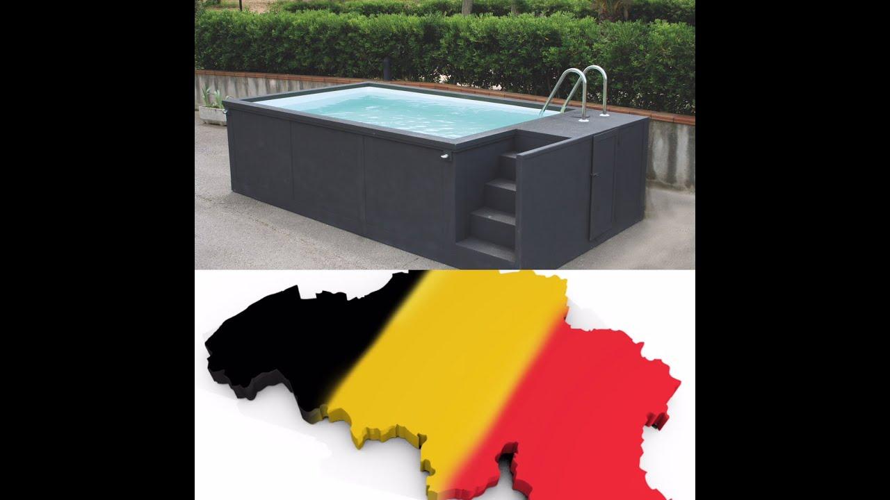 Piscine Hors Sol Portugal portugal sans permis piscine container : piscine fabriquée