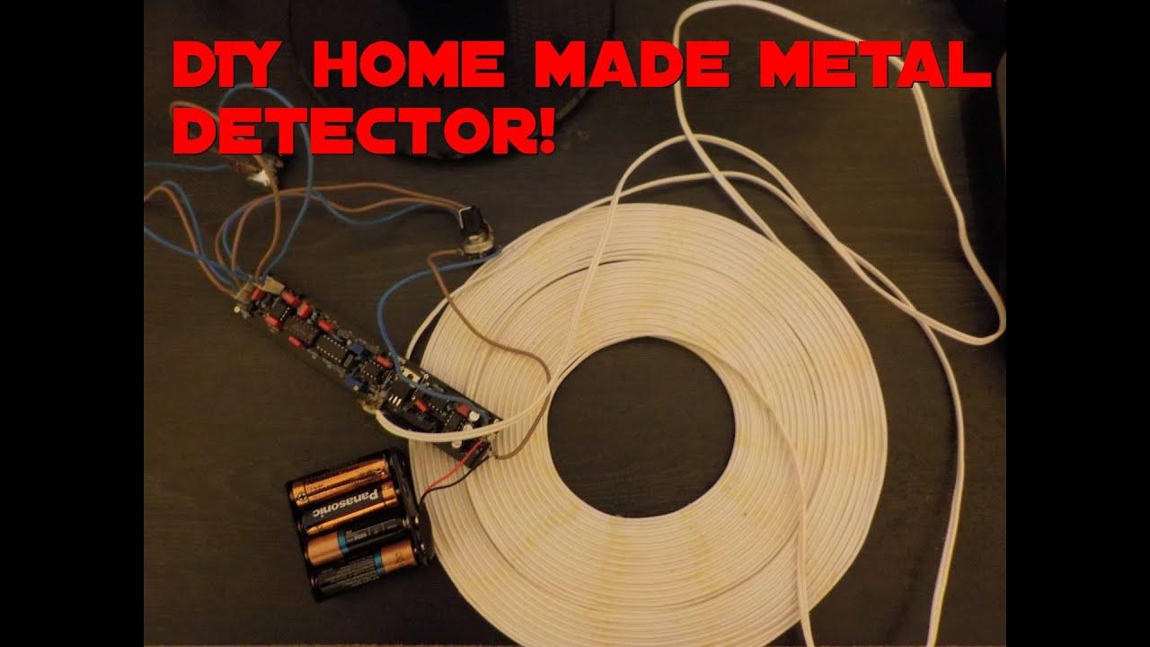 Metal Detector Surf Pi 12 Schematic Diagram Elektronik T Homemade Circuits On Circuit