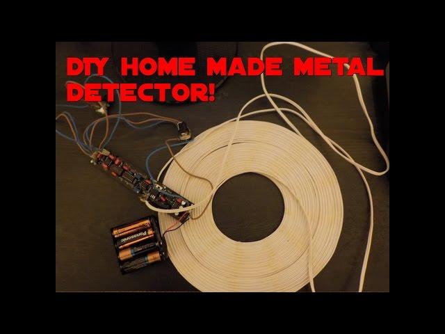 Metal detecting, DIY home made pulse induction metal detector Surf 1.2 pi