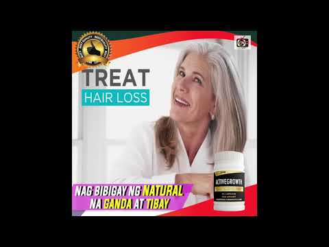 REGROW YOUR NATURAL HAIR with ACTIVE GROWTH Hair Grower Supplement by Last Ride International