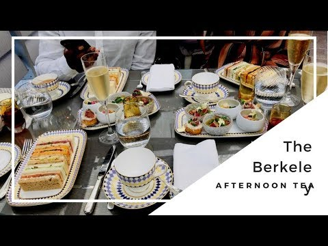 AFTERNOON TEA AT THE BERKELEY| VLOG| PENNY Z LANE