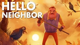Hello Neighbor   Alpha 1, 2, 3 & 4 Трейлеры всех альф Привет сосед