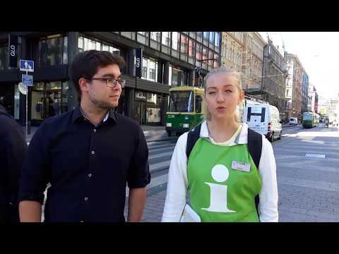 #verokampus ja kesätyöntekijät: Joonas ja Inari, Helsinki Help