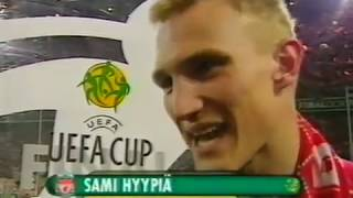 2001 UEFA Cup Final celebrations