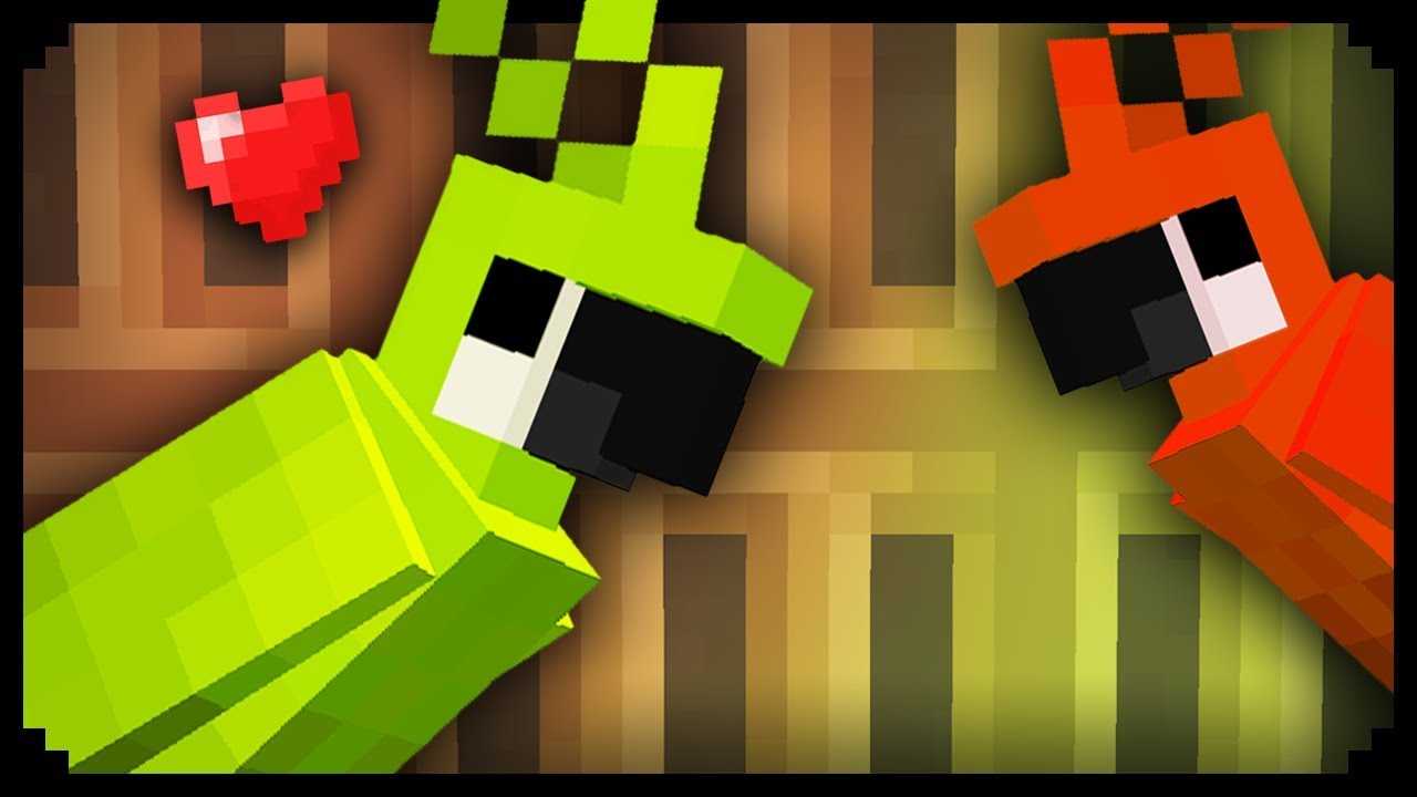 ✔ Minecraft: How to make a Parrot Cage