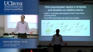 Introduction to Chemical Biology 128. Lecture 06. DNA Reactivity with Small Molecules.