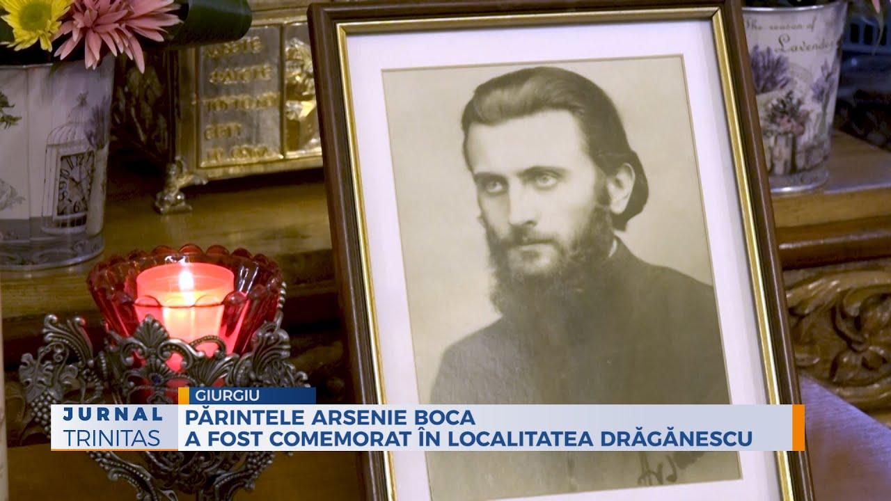 Părintele Arsenie Boca a fost comemorat în localitatea Drăgănescu