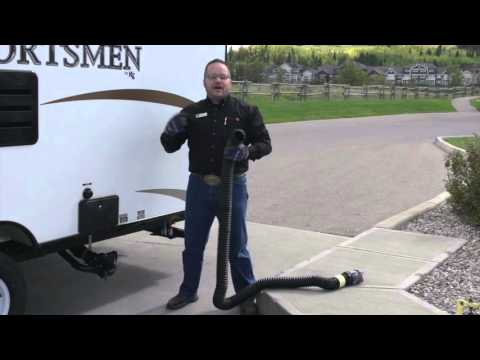 Dumping your RV's Black and Grey RV Water Tanks