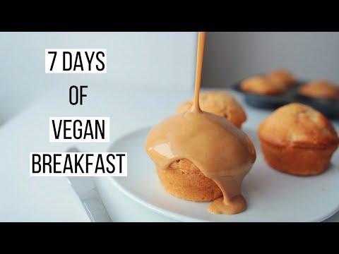 7 Days of Vegan Breakfast Ideas!