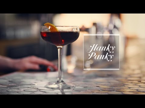 How to make the Hanky Panky cocktail