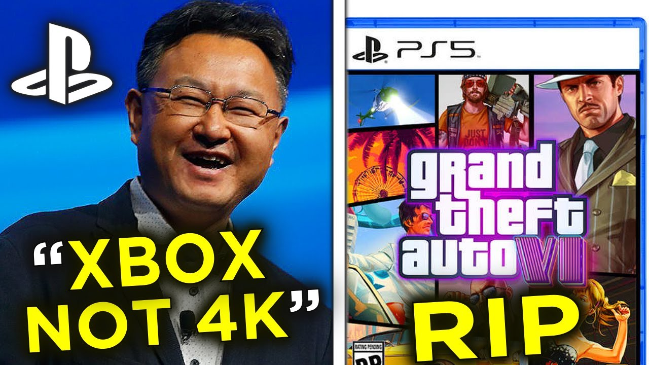 ROCKSTAR BANS GTA 6?, XBOX NOT 4K 60? - NEW Black Ops Teaser Video* & Uncharted (PS5 & Xbox