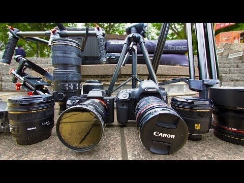 How We Make Our Japan Travel Videos - Camera Equipment Overview