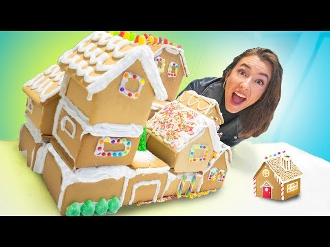 DIY GIANT GINGERBREAD HOUSE!