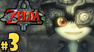 The Legend of Zelda Twilight Princess HD Gameplay Walkthrough PART 3 Wolf Link Midna Nintendo Wii U