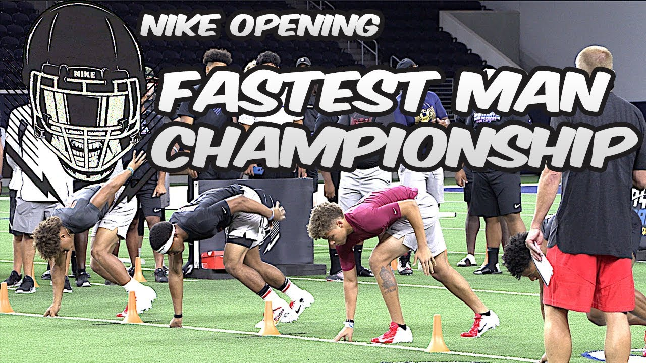 ???????? Fastest Man Championship | The Nike Opening Finals - 2018