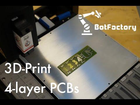 BotFactory SV2 PCB Printer