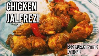 Chicken Jalfrezi, quick curry in a hurry. try this today. Any meat or veg