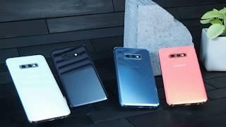 Samsung Galaxy 10e, Galaxy S10 and Galaxy S10+ colors