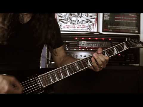 """EXPULSION - """"Total Human Genocide"""" (Guitar Playthrough)"""