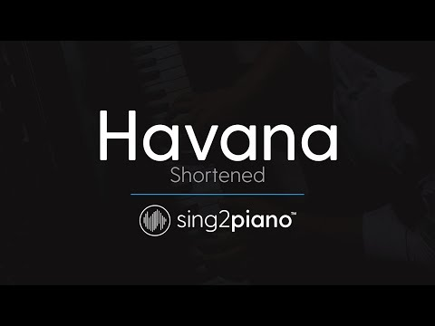 Havana (Shortened) [Piano Karaoke Instrumental] Camila Cabel