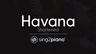 Download lagu Havana (Shortened) [Piano Karaoke Instrumental] Camila Cabello & Young Thug