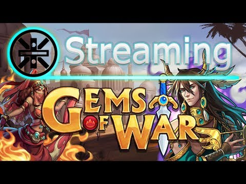 🔥 Gems of War Stream: Treasure Gnome Buff! The Vault Key Hunt Continuess 🔥