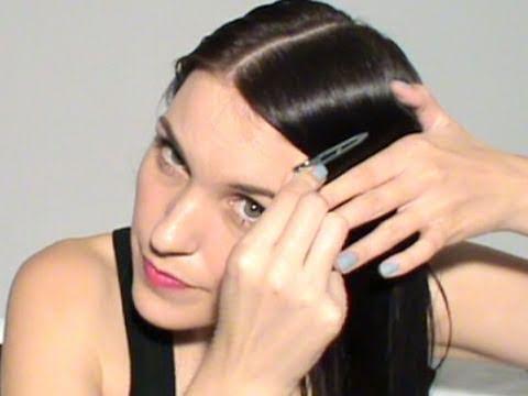 Cómo ves es muy sencillo tener el cabello liso sin necesidad de usar  planchas y secadores. Al comienzo no va a ser muy sencillo hacer el  peinado 10e8756d5924