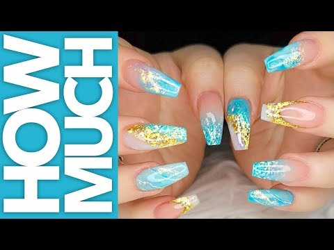 how-much---acrylic,-nail-polish,-glitter,-pigment,-foil-full-set---nails
