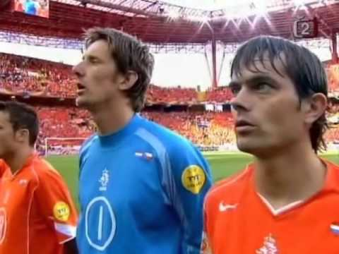 Czech Republic - Netherlands EURO 2004 Anthems