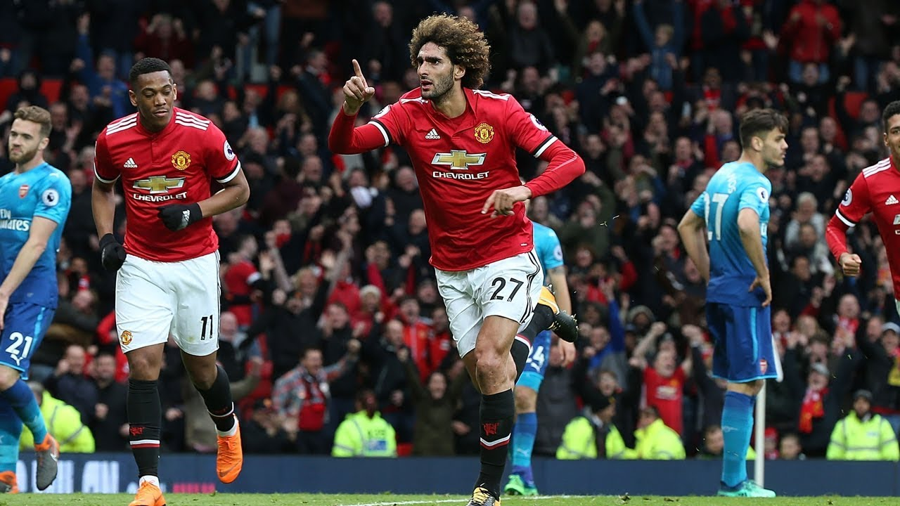 Image result for manchester united 2-1 arsenal
