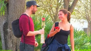 Asking 50 Girls To Be My Girlfriend!! (Social Experiment)