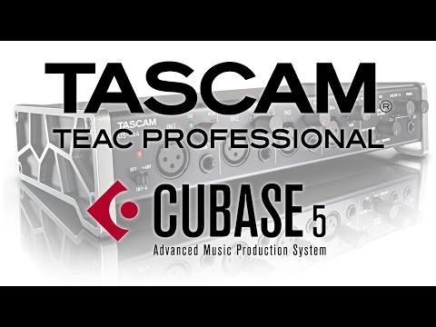 How To Get Started With Any Tascam Audio Interface (+ Cubase 5) For AUDIO RECORDING
