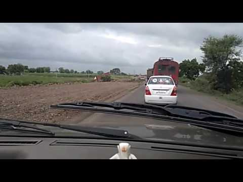 Road Condition Between Hyderabad - Solapur