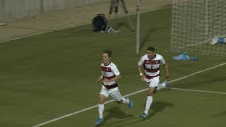 No. 7 Stanford men's soccer scores late for tough road win at UCLA
