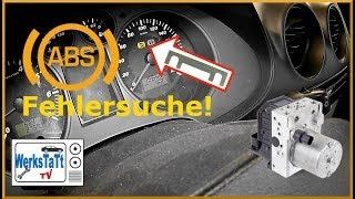 ►Seat Ibiza◄ Fehlersuche ABS [troubleshooting Anti-Lock Brakesystem] ◢WERKSTATT-TV◣