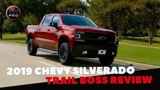 2019 Chevrolet Silverado LT Trail Boss First Drive Review