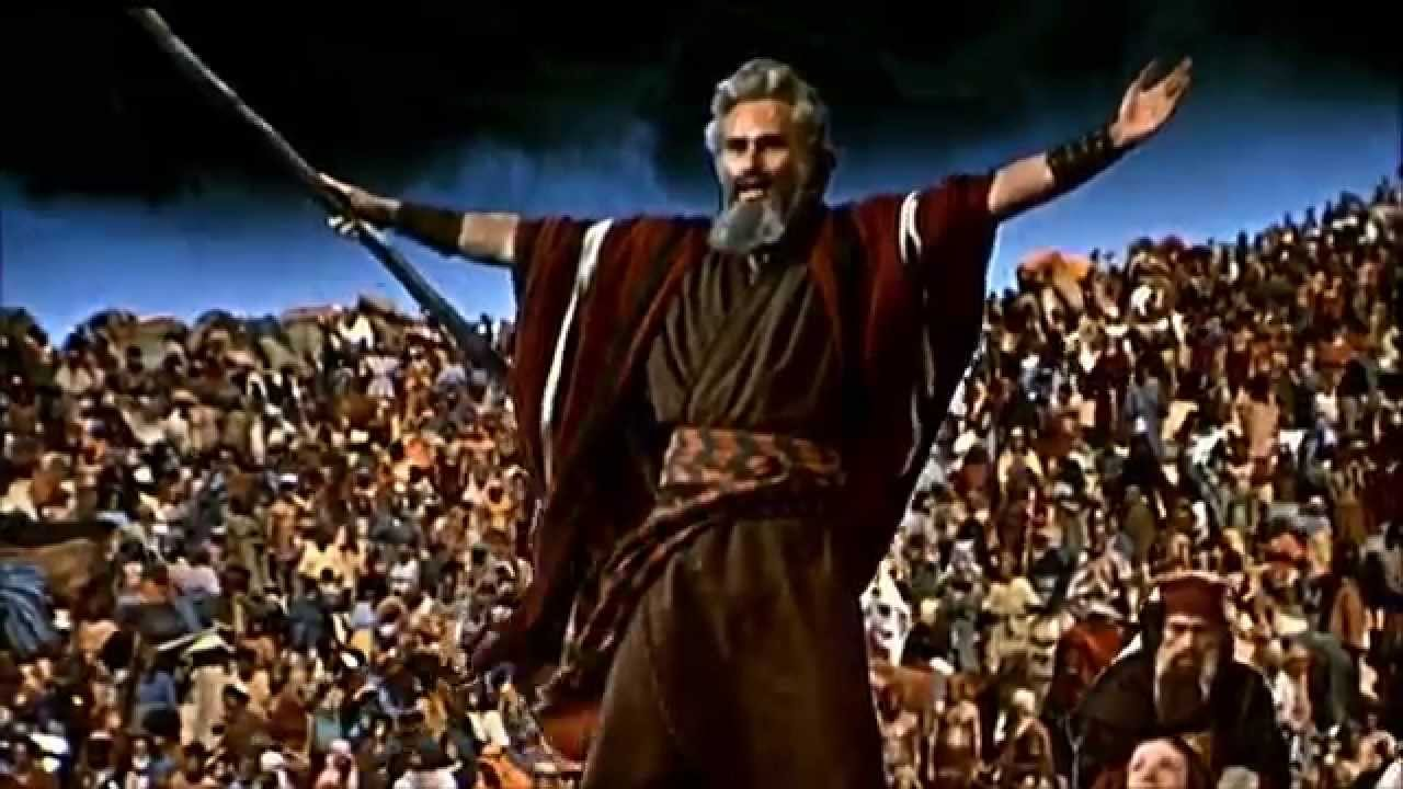 youtube the ten commandments 1956 full movie