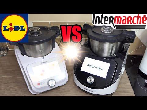 digicook intermarche vs monsieur cuisine connect lidl robot de cuisine arthur martin deballage avis